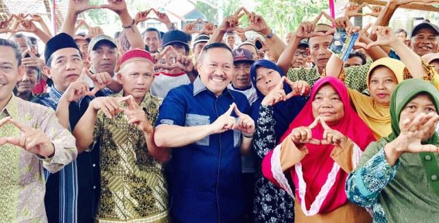 Sartono Hutomo, DPR RI Komisi VI saat kunjungan ke Ngawi, Sabtu (24/02). Foto-Istimewa
