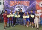 Atlet Muay Thai Ngawi Raih 5 Medali Emas di Kejurprov Jatim