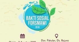 Baksos Forsmawi 2018