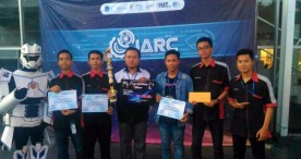 Tim Skansa Raih Juara 2 dalam Industrial Automation and Robotic Competition 2018
