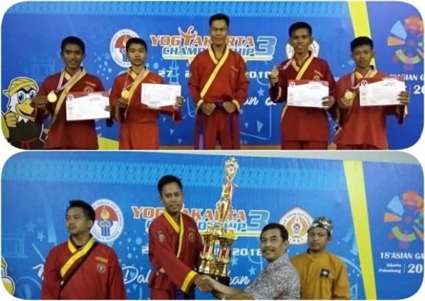 Atlet Ngawi Sabet Juara Umum Tingkat SMP dan SMA dalam Yogyakarta Championship 3 2018