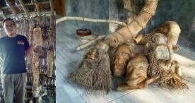 Agus Sugiharto Mengubah Bonggol Bambu Menjadi Kerajinan Bernilai Tinggi