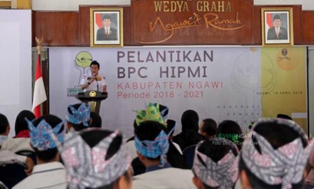 Sekretaris HIPMI Jatim Ingin Pengusaha Ngawi Sukses Hingga Pasar Internasional