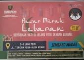 Pasar Murah Lebaran Dinas Perdagangan Ngawi Jelang Lebaran 2018