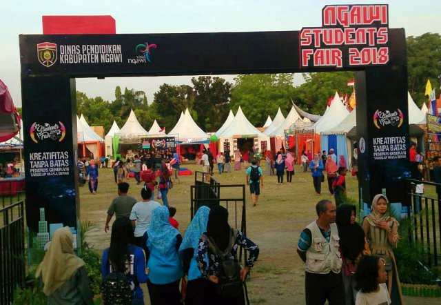 Ngawi Student Fair 2018. Foto-Istimewa