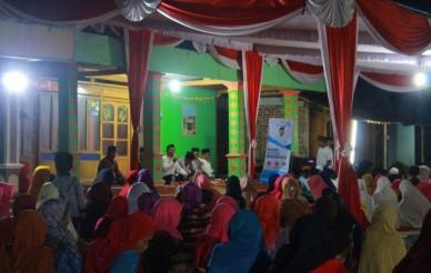Ony Anwar memberikan ceramah dalam agenda Safari Ramadhan KampoengBerbagi di Masjid Al Fatah, Mangunharjo, Senin (28/05). Foto-Istimewa/Taufiqurrohman