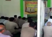 Polres Ngawi Intensifkan Jadwal Latihan Baca Alquran di Bulan Ramadhan