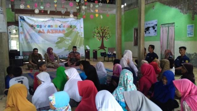 Peringatan Hari Buku Nasional di Sanggar Anak Cerdas Al Azhar, Selasa (15/05). Foto-Istimewa