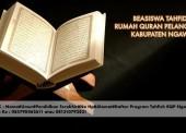 Beasiswa Pendidikan Tahfidz di Rumah Quran Pelangi Ngawi