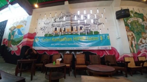 HIPMI Jatim Adakan Safari Ramadhan di Ngawi