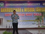 Wakil Bupati Ngawi Sebut SMPIT Harum Ngawi Adalah Paket Komplit