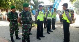 Sinergi Polsek Bringin dan TNI Amankan Musim Lebaran 2018