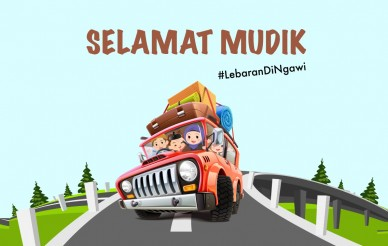 #LebaranDiNgawi