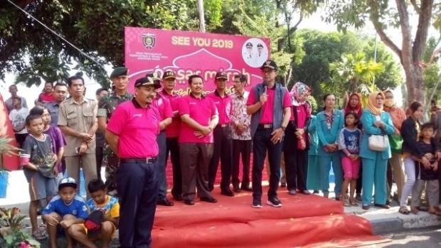 Bupati Ngawi Membuka Pasar Murah Lebaran Ngawi Tahun 2018