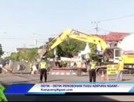 VIDEO : Detik-detik Perobohan Tugu Kartonyono Ngawi
