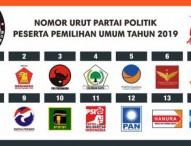 Kenali Partai Politik Peserta Pemilu 2019
