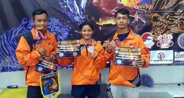 Atlet Wushu Ngawi Raih 3 Medali (Emas, Perak, dan Perunggu) dalam Kejurnas Aliansi Kungfu Tradisional Indonesia. Foto-Istimewa
