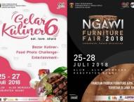 Jangan Lewatkan Semarak Gelar Kuliner dan Ngawi Furniture Fair 2018