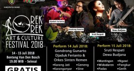 Orek-orek Art & Culture Festival 2018 Suguhkan Budaya dan Kuliner Ngangeni