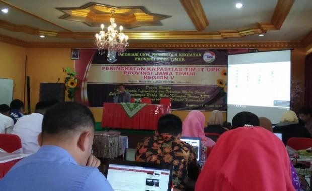 Asosiasi UPK Jatim Selenggarakan Pelatihan Peningkatan Kapasitas Tim IT
