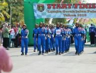 Gerak Jalan Pelajar Ngawi tahun 2018 Semarakkan Bulan Kemerdekaan