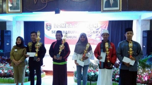 Selamat Kepada Para Juara Lomba Hadrah Kabupaten Ngawi Tahun 2018