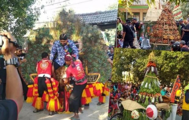 Kirab Budaya Desa Dempel Semarak Luar Biasa