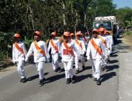 71 Regu Ikuti Lomba Gerak Jalan SD-SMP se-Kecamatan Karangjati