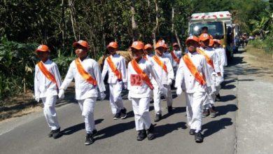 Photo of 71 Regu Ikuti Lomba Gerak Jalan SD-SMP se-Kecamatan Karangjati