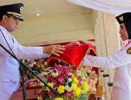 Upacara HUT ke-73 Republik Indonesia di Kabupaten Ngawi Berjalan Penuh Khidmad