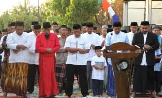 Ony Anwar Ajak Jamaah Salat Idul Adha Doakan Korban Bencana Lombok