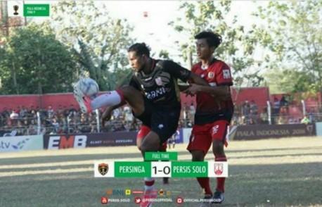 Persinga Ngawi Kalahkan Persis Solo 1-0 dalam Piala Indonesia 2018. Foto-Istimewa