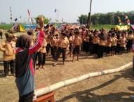 Serunya Pesta Siaga di Kwartir Ranting Gerakan Pramuka Karangjati