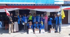 PMII Ngawi Gelar Aksi Penggalangan Dana Peduli Lombok
