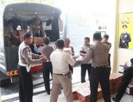 Polres Ngawi Kirim Bantuan Logistik untuk Korban Gempa Bumi Lombok