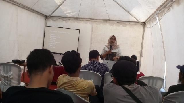Workshop Kopi, salah satu agenda dalam Festival Kopi Ngawi 2018. Foto-KampoengNgawi.com/Fri