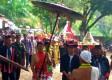 Bupati Ngawi turut mengikuti Arak Tumpeng dalam Festival Gravitasi Bumi #3, Selo Ondo, Minggu (02/09/2018). Foto-Istimewa/Wahjudi Djaja