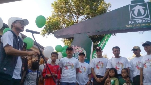 Bupati Ngawi Doakan RS Widodo semakin Sukses dalam agenda Jalan Sehat 22 Tahun RS Widodo. Foto-Istimewa