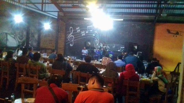Suasana silaturrahim Polres Ngawi bersama pegiat media sosial dan komunitas, Rabu (26/09/2018). Foto-KampoengNgawi.com/Fri