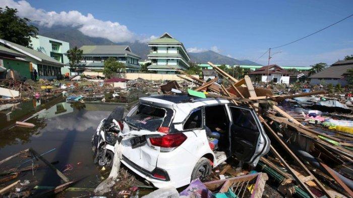 Salah satu situasi kondisi Palu pasca gempa dan tsunami. Foto-Istimewa
