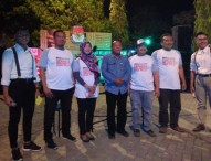 KPU Ngawi Sosialisasikan Pemilu dengan Panggung Musik Malam Minggu