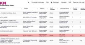 Jabatan Bidan Terampil Menjadi Incaran Tertinggi Pendaftaran CPNS 2018 di Kabupaten Ngawi