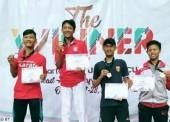 Rivaldo Firmansyah Sabet Juara 3 dalam Kejuaraan Southeast Asian Karate Championship Yogyakarta State University Cup VIII