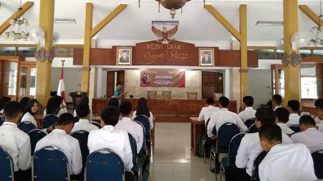 Ratusan Peserta Ikuti Seleksi Pemilihan Duta Wisata Ngawi 2018, Sabtu (06/10/2018). Foto-IG/visit_ngawi