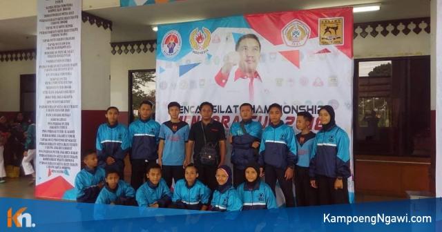 Tim Sasana Widodo Putra Ngawi dalam Pencak Silat Championship Menpora Cup 2018. Foto-IG/tyok_jantra