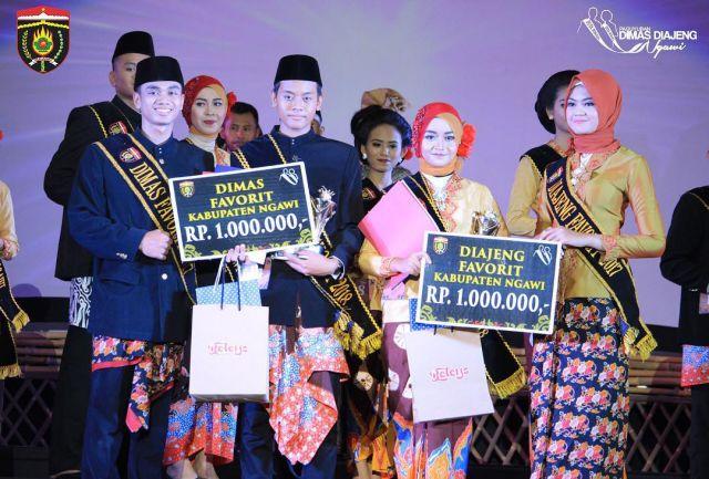Dimas dan Diajeng Favorit Kabupaten Ngawi tahun 2018. Foto-Dok. DimasDiajengNgawi