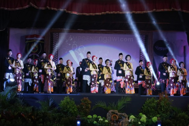 Grand Final Pemilihan Duta Wisata Dimas Diajeng Ngawi tahun 2018, Sabtu (03/11/2018) di Eka Kapti. Foto-KampoengNgawi.com/Fri