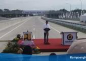 Tol Ngawi-Sragen Telah Diresmikan Presiden Joko Widodo