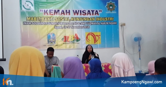 Kemah Wisata SD Luqman Al Hakim Ngawi, Jumat-Sabtu (16-17/11/2018). Foto-Istimewa