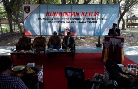 Kunjungan Kerja Komisi IV DPR RI di Pondok Gontor Putri, Kamis (01/11/2018). Foto-Dok. DJPB KKP